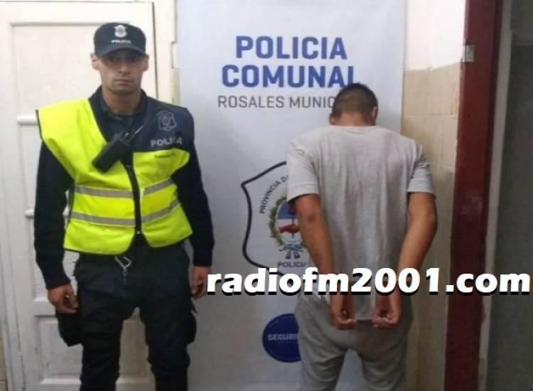 La Policia detuvo a un sujeto que habría ingresado a una casa