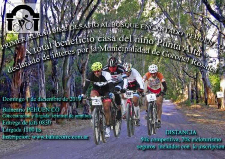Pehuen Co: Este domingo se disputará una carrera de Mountain Bike