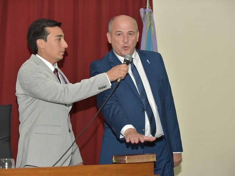 El intendente Mariano Uset asumió su cargo para un segundo mandato