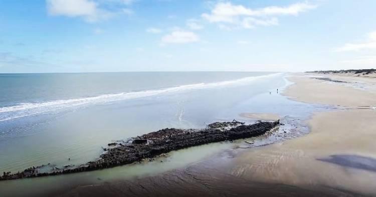 """Se cumplieron 136 años de que """"La Soberana"""" encalló en las costas de Pehuen Co"""