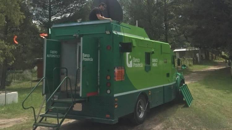 Pehuen Co: Ya está en funcionamiento el cajero automático móvil