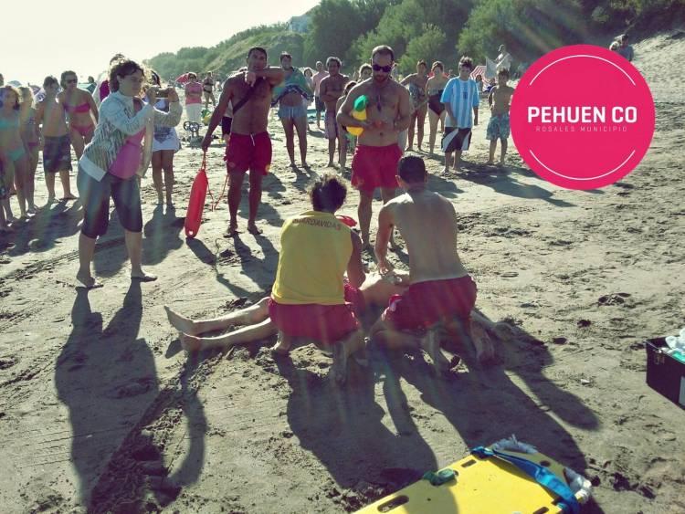 Pehuen Co: Los guardavidas brindan seguridad, prevención y rescate en las playas