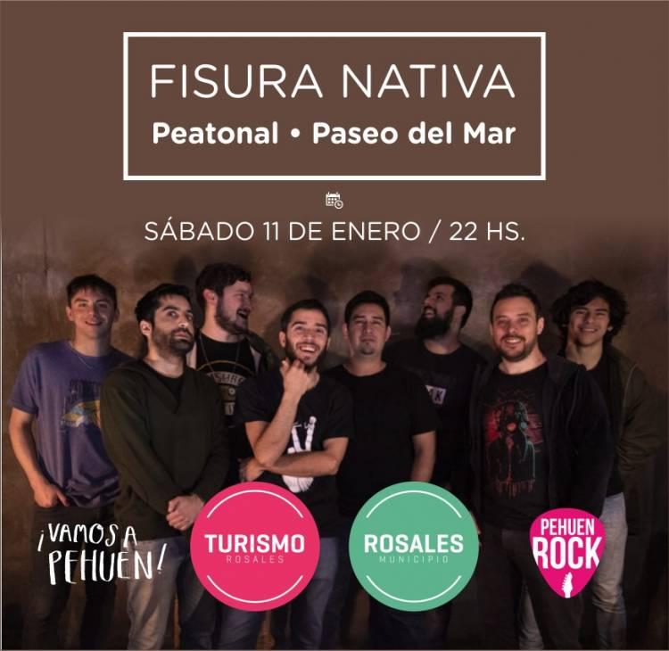 Pehuen Rock 2020: Fisura Nativa será el primer show de la temporada este sábado 11, a las 23hs