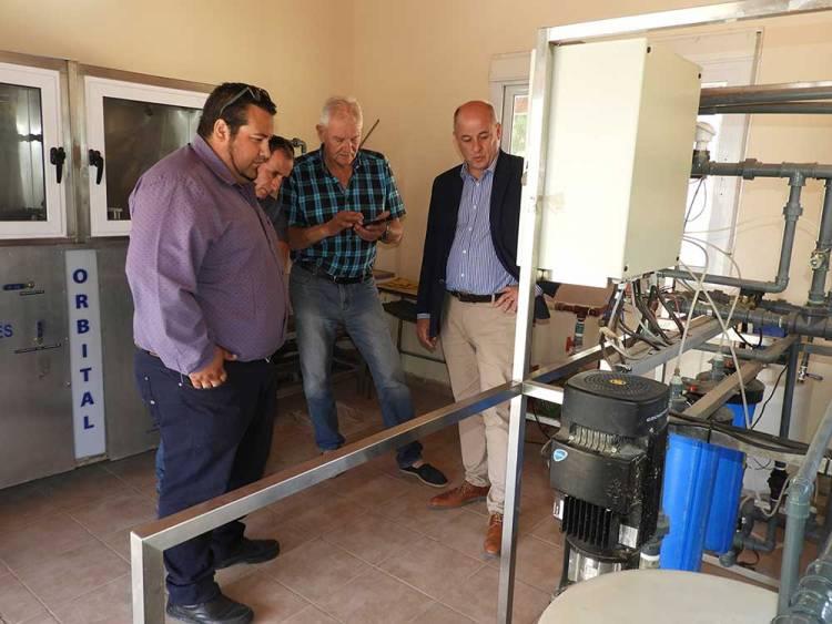 La Planta Potabilizadora de Bajo Hondo ya funciona en óptimas condiciones
