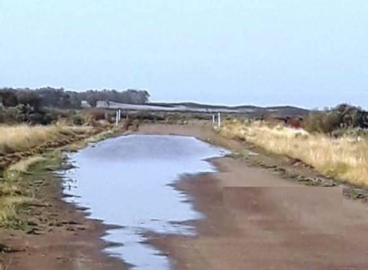 Tras las intensas lluvias, cierran el Balneario Punta Ancla