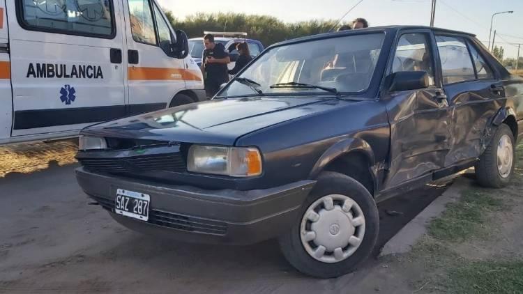 Villa Maio: Un choque entre dos vehículos dejó un herido
