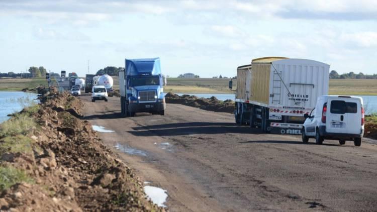 La obra de alteo del km 608 de la Ruta 3 comenzará en marzo