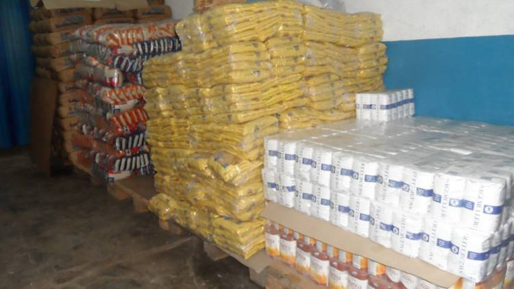 La entrega de mercadería del PAM se hará domiciliaria desde el lunes