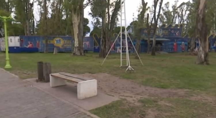 Bahía Blanca: Un circo arribó semanas atrás y sus artistas hoy están aislados en un motorhome