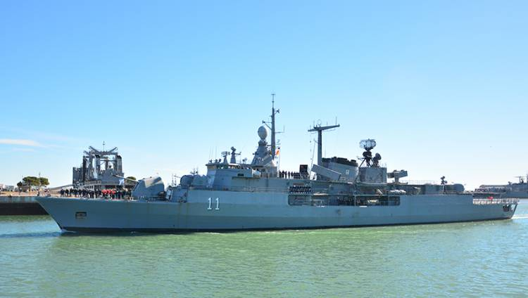 Zona Económica Exclusiva: la Armada Argentina refuerza el apoyo