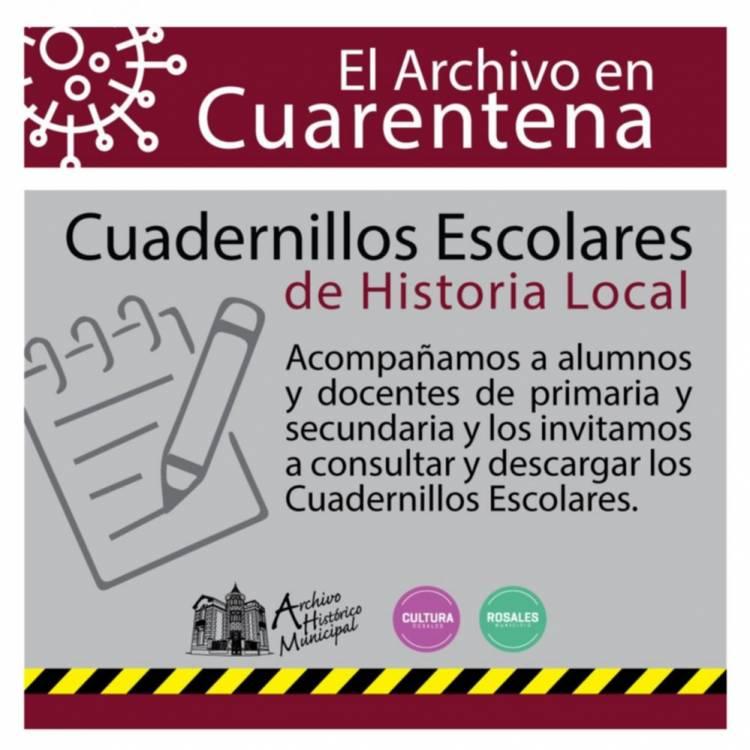 Acompañamiento del Archivo Histórico Municipal para alumnos y docentes rosaleños