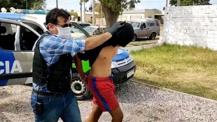 Lo detuvieron nuevamente por violar la cuarentena para salir a robar