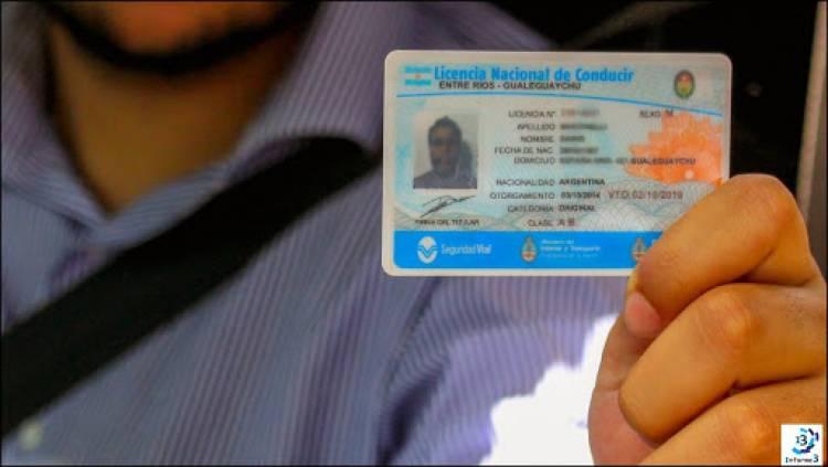 Se prorrogan los vencimientos de licencias de conducir por 120 días