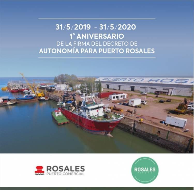 Hoy se cumple el 1° Aniversario de la firma del decreto de autonomía de Puerto Rosales