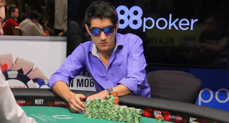 El puntaltense Iván Lucá se subió al podio en un importante certamen de Póker online