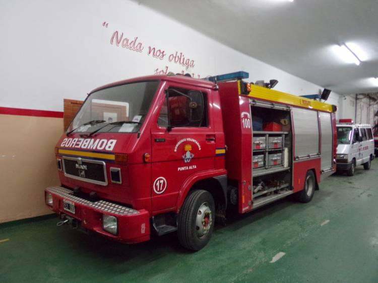Principio de incendio en una vivienda en Belgrano al 2100