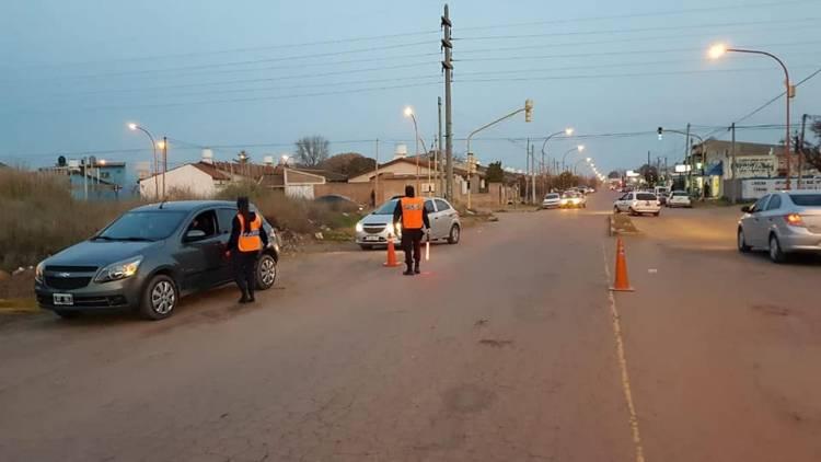 Se realizaron operativos de control en distintos sectores de la ciudad