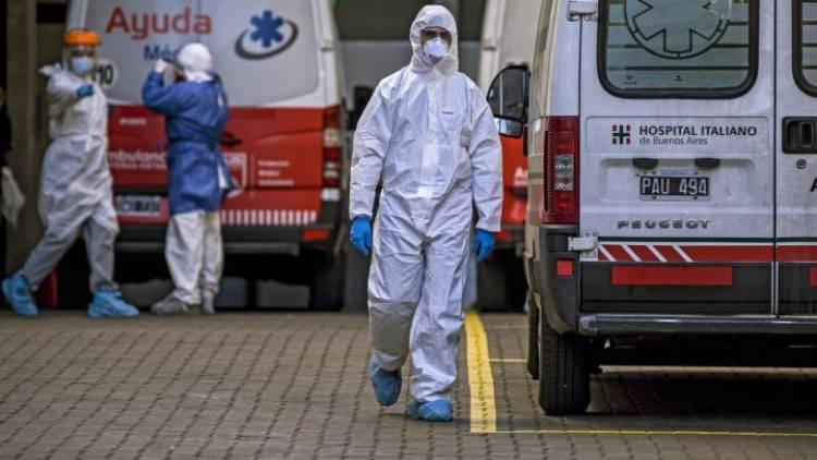 Argentina: diagnosticaron 10.776 nuevos contagios de coronavirus y el total asciende a 546.481