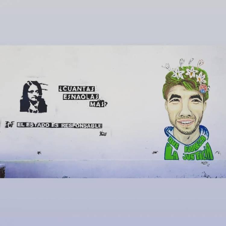 Un artista de nuestra ciudad pintó un mural para Facundo