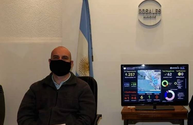 ¿Hay circulación comunitaria del virus Covid 19 en Coronel Rosales?