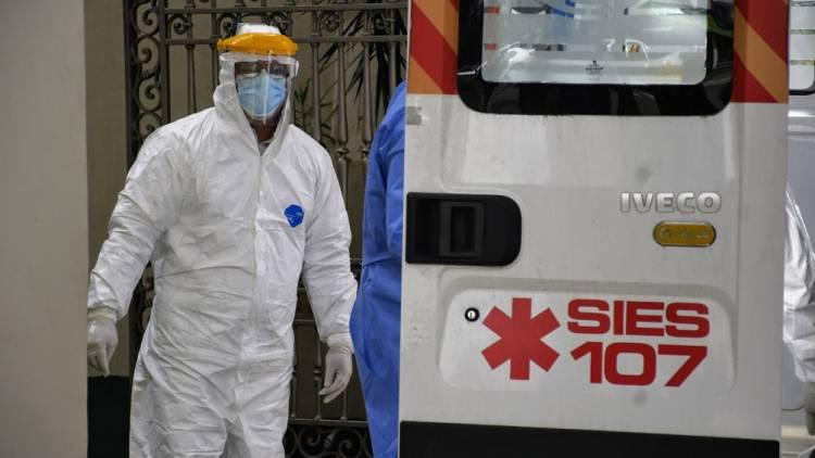 Coronavirus: ascienden a 12.116 los fallecidos y 589.012 los contagiados en el país