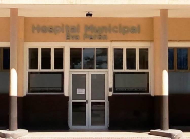 Los enfermeros del Hospital Municipal Eva Perón realizan una retención de tareas