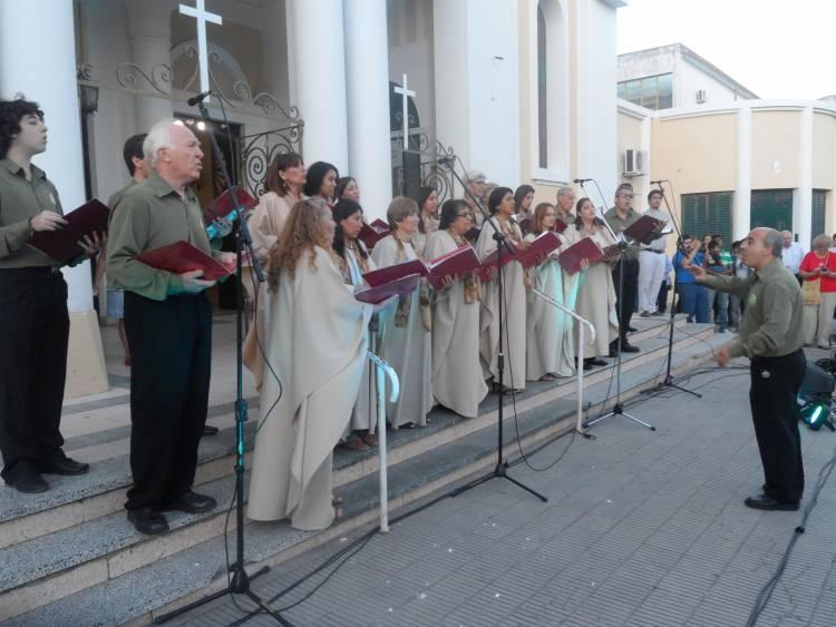 Voces locales en un encuentro virtual e internacional de coros