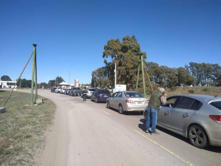Durante el fin de semana largo, los controles impidieron el ingreso al distrito de 161 vehículos