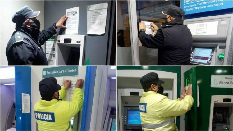 Prevención en cajeros automáticos ante posibles estafas