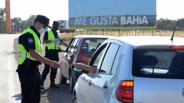 Se intensificarán los controles en el ingreso a Bahía Blanca