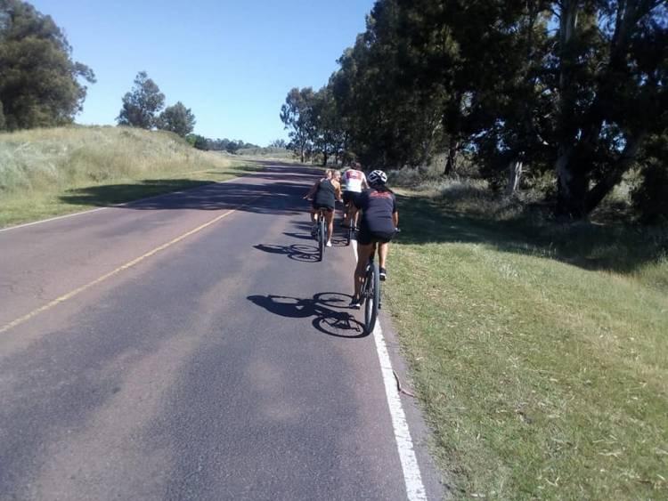 Se llevó a cabo el cuarto cicloturismo solidario