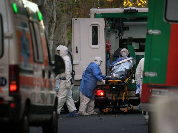 Murieron 261 personas por coronavirus en el país y detectaron 9.608 nuevos casos