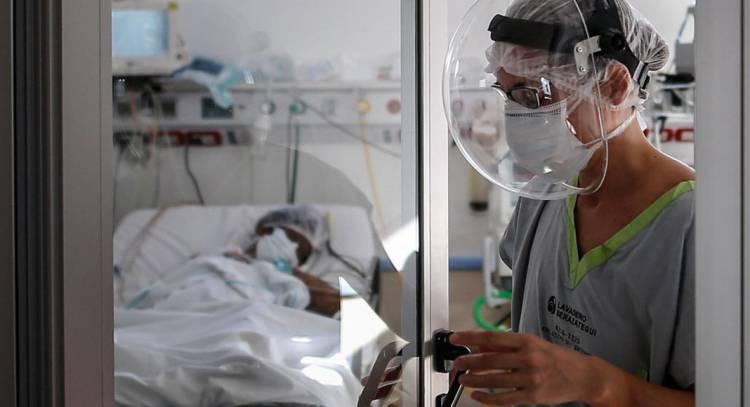 Covid 19: La ocupación de camas de terapia es del 55 por ciento en el país