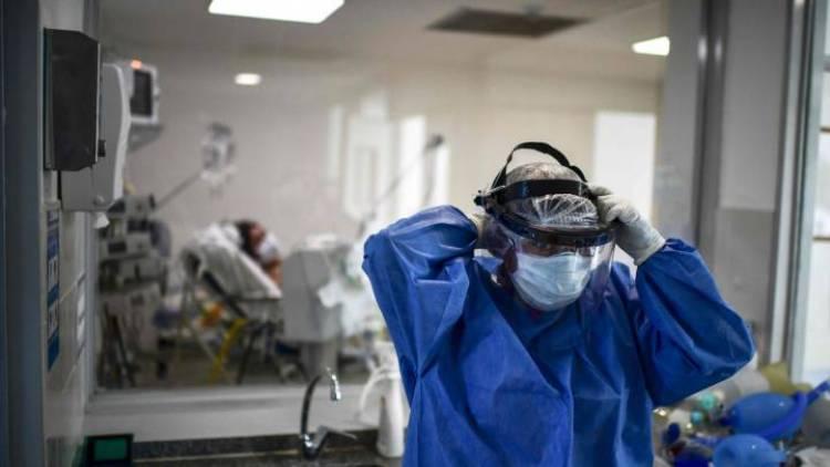 Este martes murieron 194 personas y 13.783 fueron diagnosticadas con coronavirus en el país