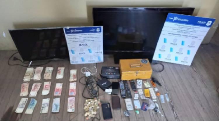La policía de nuestra ciudadrecuperó elementos robados
