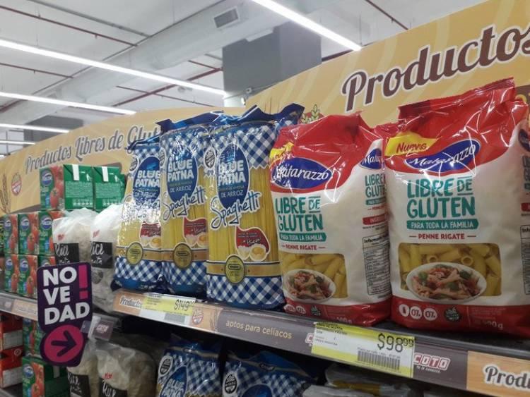 Los siguientes productos para celíacos están incluidos en los Precios Cuidados