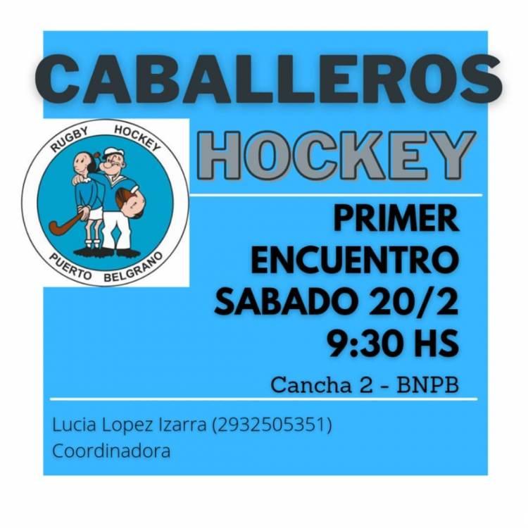 Se disputará un encuentro de Hockey Masculino en Puerto Belgrano