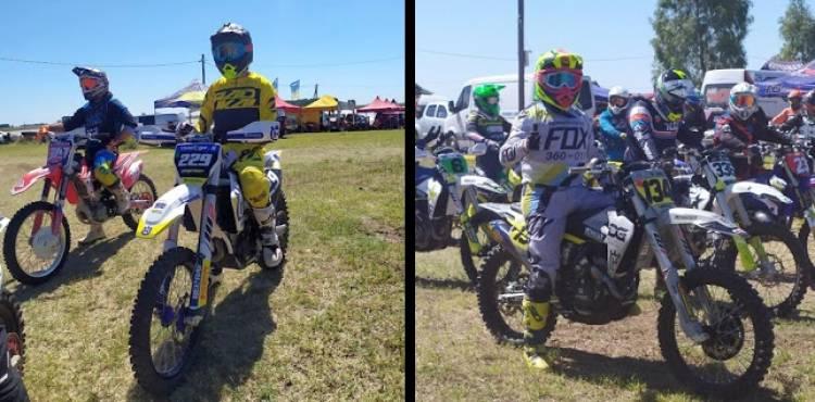 Puntaltenses protagonistas en la fecha inaugural del Motocross MX Sur