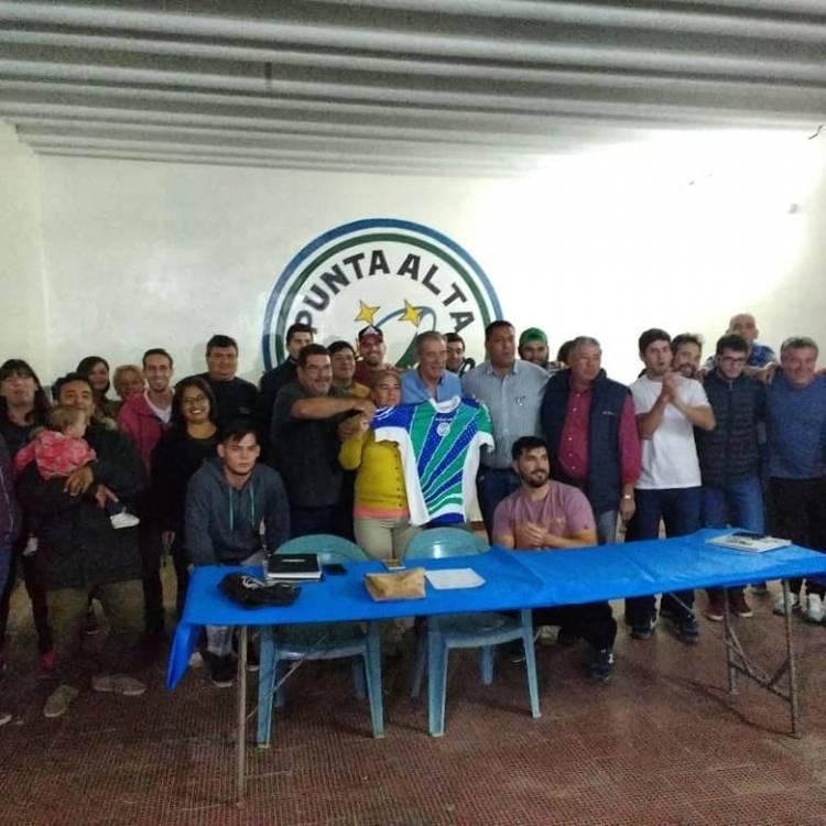 Héctor González es el nuevo presidente del Punta Alta Rugby Club