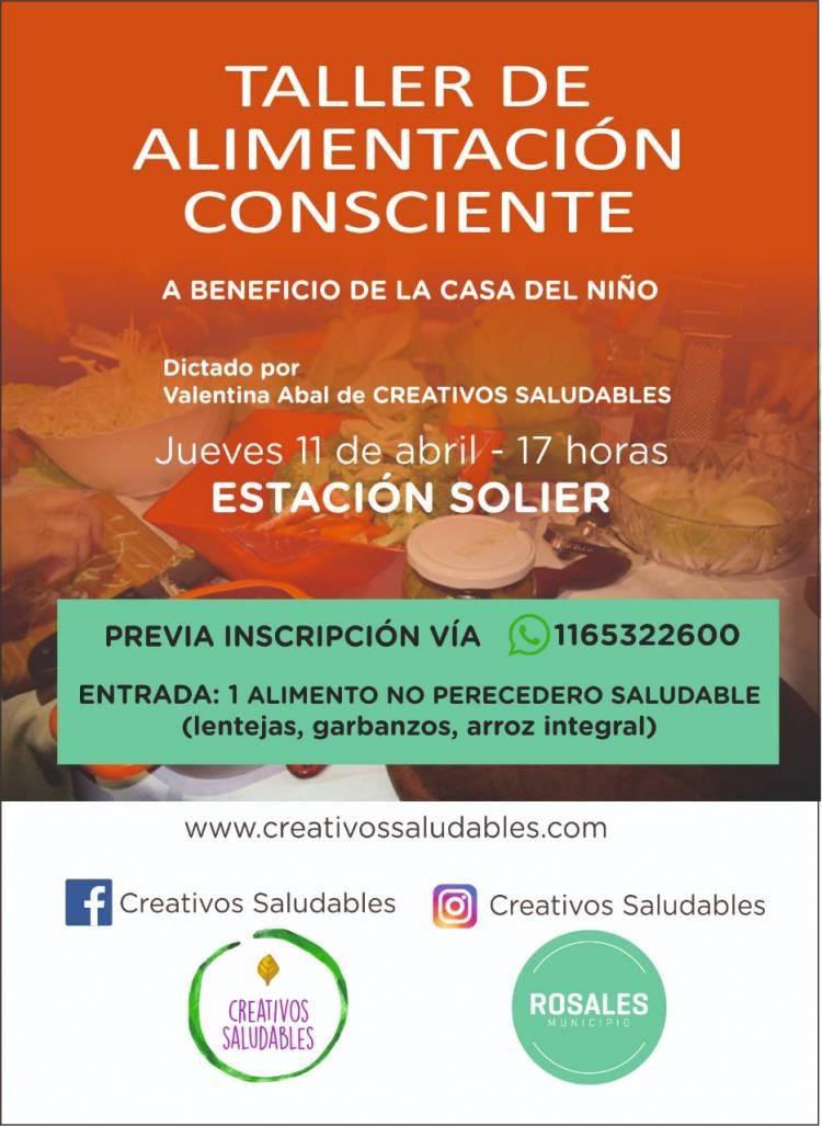 Jornada sobre alimentación consciente en ex Estación Solier