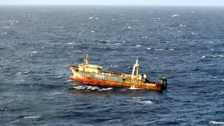 """Caso SAR del buque pesquero """"Lu Rong Yuan Yu 989"""""""