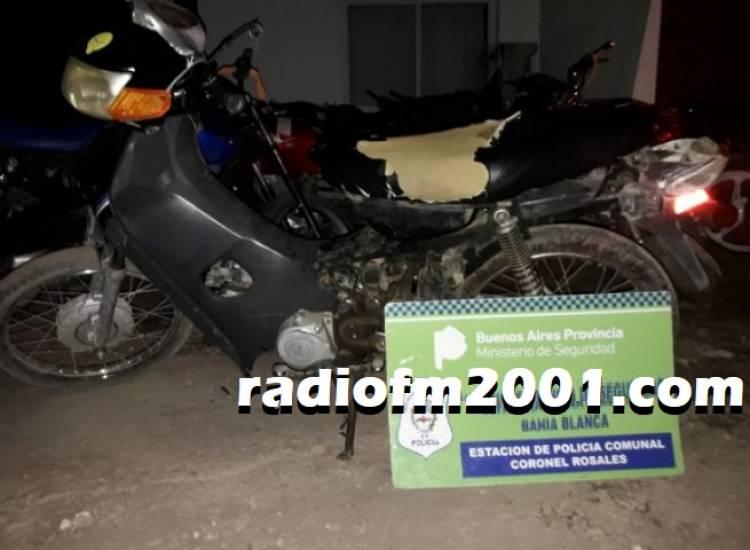 La Policia detuvo a un menor que circulaba con una moto robada