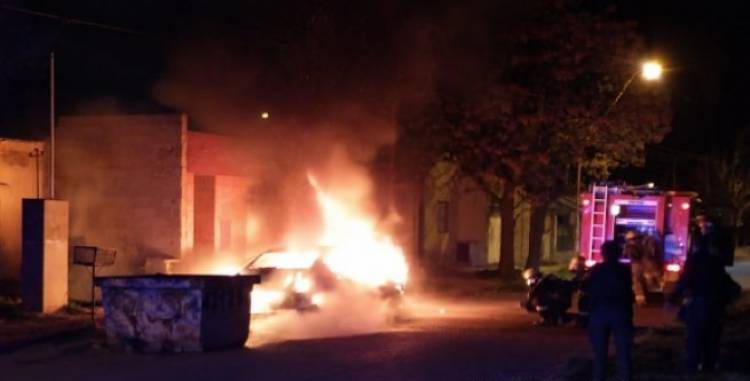Pérdidas totales en un vehículo luego de un incendio