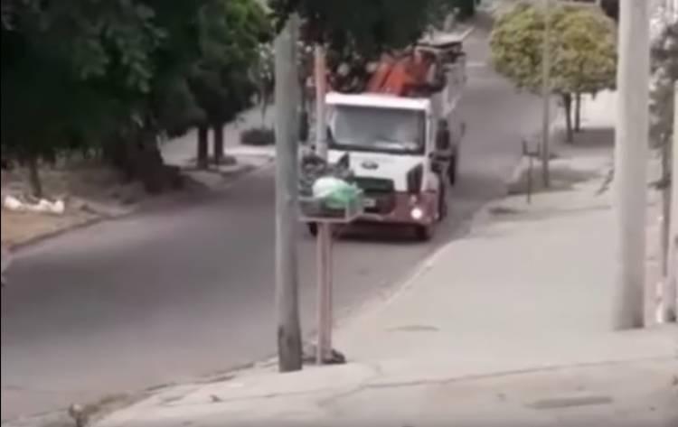Falta de controles sobre la circulación de vehículos pesados en sectores de nuestra ciudad