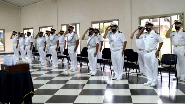 Puerto Belgrano: Se realizó la ceremonia de despedida a suboficiales que pasan a retiro