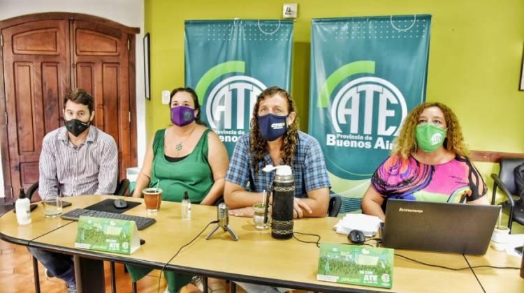 El Consejo Directivo Provincial de ATE aprobó la propuesta salarial del gobierno Bonaerense
