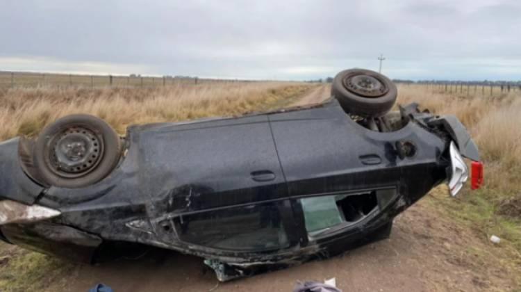 Una pareja perdió la vida en la ruta a Pehuen Co
