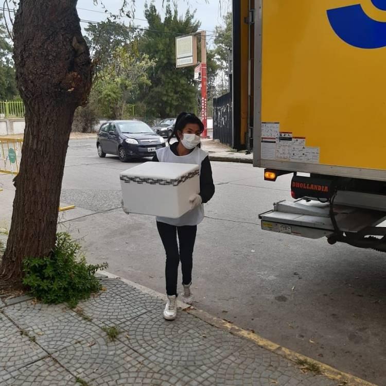 Llegaron 1200 nuevas dosis de AstraZeneca a Coronel Rosales