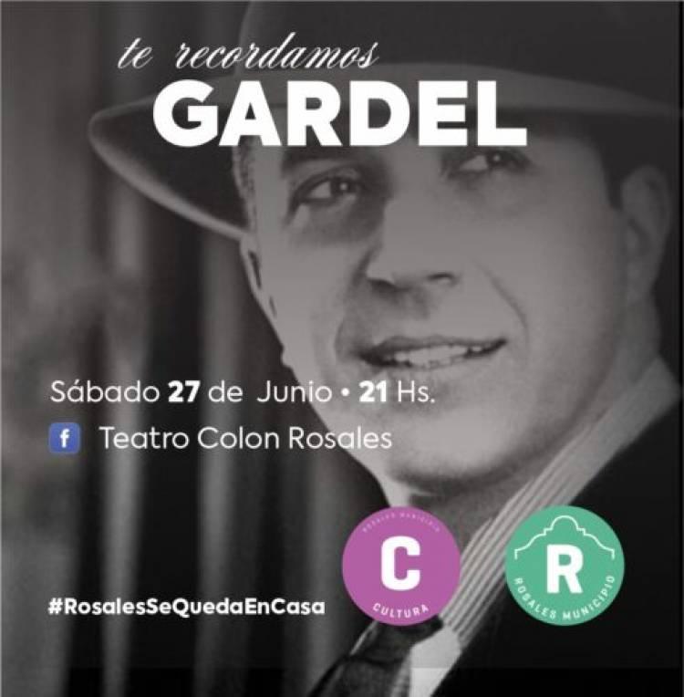 El Municipio de Coronel Rosales recordará a Gardel con un evento virtual de la Dirección de Cultura
