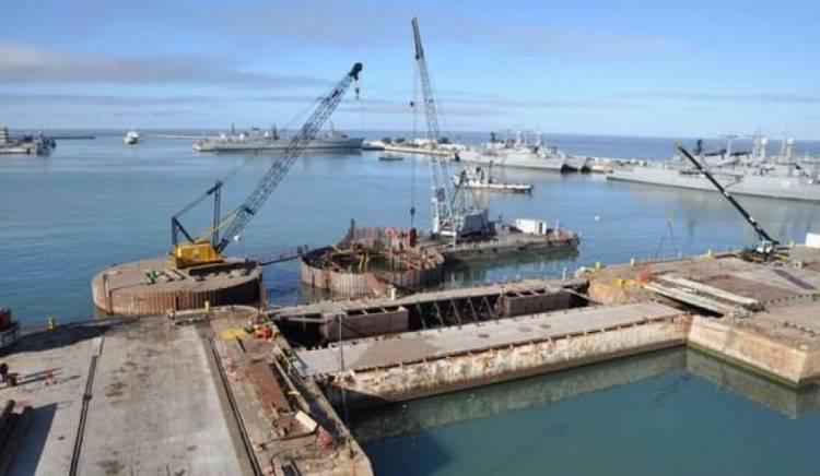 El Astillero Río Santiago construirá la compuerta flotante del dique de Puerto Belgrano